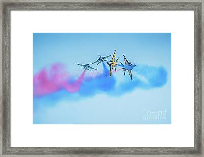Framed Print featuring the photograph Perfect Fit by Ray Shiu