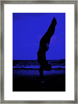 Perfect Form Framed Print by Trudi Southerland