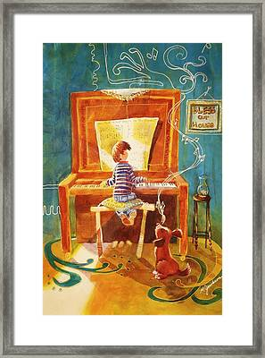 Perfect Harmony Framed Print by Marilyn Jacobson