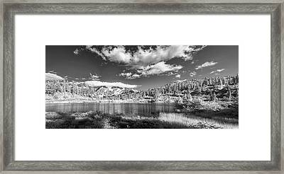 Framed Print featuring the photograph Perfect Lake At Mount Baker by Jon Glaser