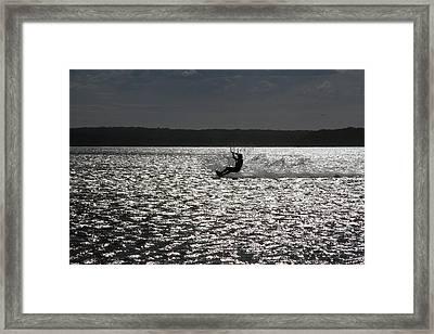 Framed Print featuring the photograph Perfect Light At Lake Wollumboola by Miroslava Jurcik