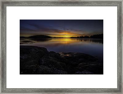 Perfect Light Framed Print by Thomas Ashcraft