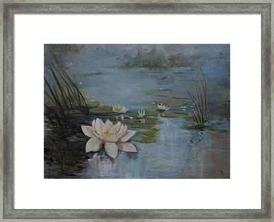 Perfect Lotus - Lmj Framed Print