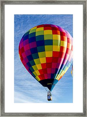 Perfect Morning Take Off Framed Print by Teri Virbickis