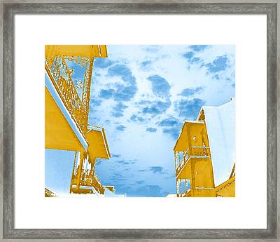 Perfect New Orleans Day Framed Print