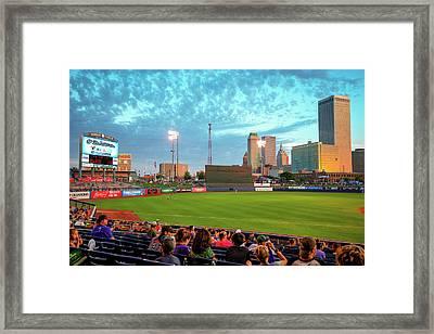 Oneok Stadium - Tulsa Drillers Stadium View Framed Print