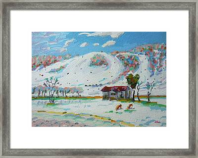 Perfect North Vi Framed Print