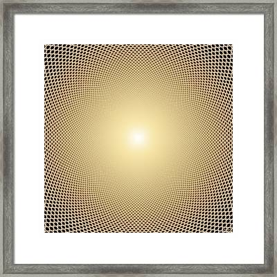 Perfect Oneness Framed Print by Robby Donaghey
