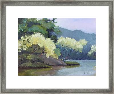 Perfect Peace Framed Print