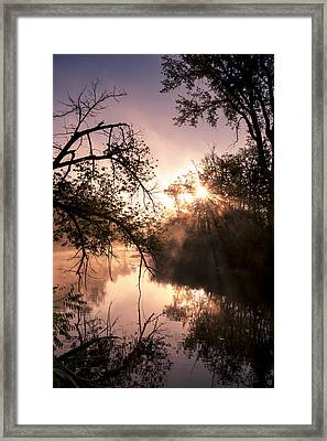Framed Print featuring the photograph Perfect Reflections by Annette Berglund
