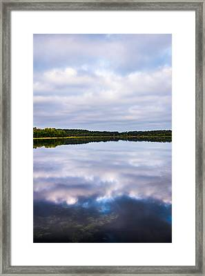 Perfect Reflections Framed Print by Shelby  Young