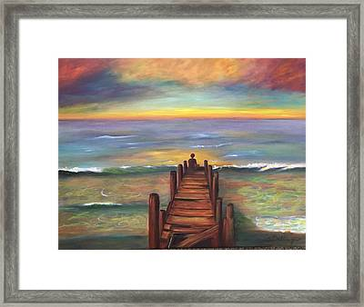 Perfect Solitude  Framed Print