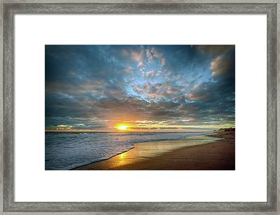 Perfect Start Sunrise Framed Print
