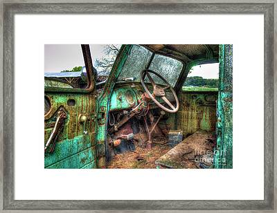 Perfect Storm Interior Design Special 1947 Chevy Truck Art Framed Print