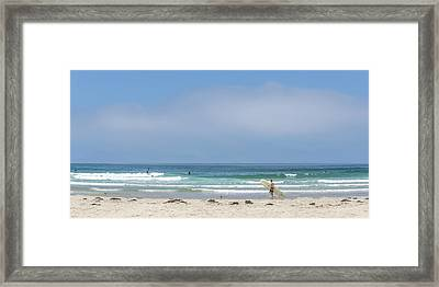Perfect Summer Framed Print by Peter Tellone