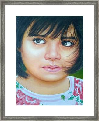 Perfect To Paint Framed Print