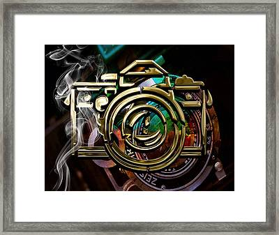 Perfect View Camera Collection Framed Print by Marvin Blaine
