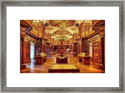 Framed Print featuring the photograph Perfection Rococo Style by Peter Thoeny