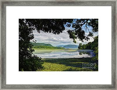 Perfectly Framed Framed Print