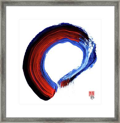 Perfectly Imperfect, Imperfectly Perfect Framed Print