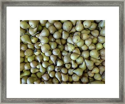 Perfectly Peared Framed Print