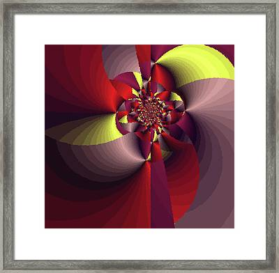 Perfectly Wrapped Framed Print by Bonnie Bruno