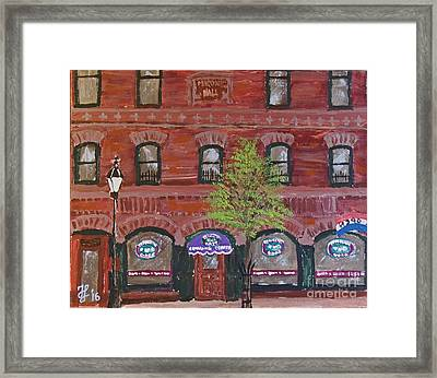 Perfecto's Cafe Framed Print