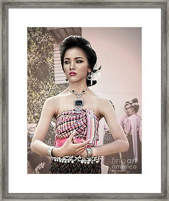 Performance Of Beauty Framed Print
