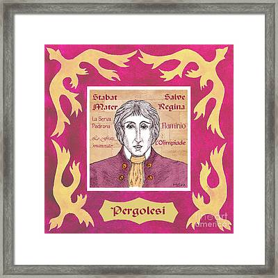 Pergolesi Framed Print by Paul Helm