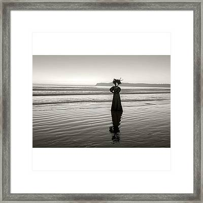 Perhaps The Most Famous #ghost In Framed Print