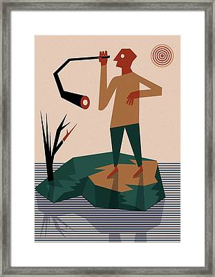 Periscope Framed Print