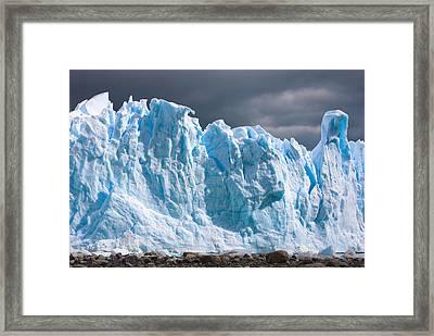 Perito Moreno Glacier - Patagonia Framed Print