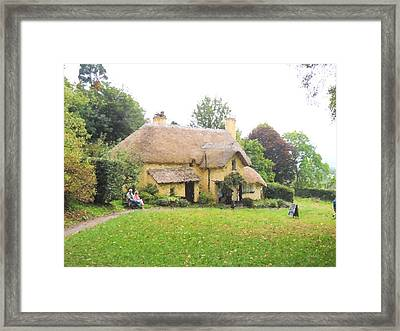 Periwinkle Cottage II Framed Print
