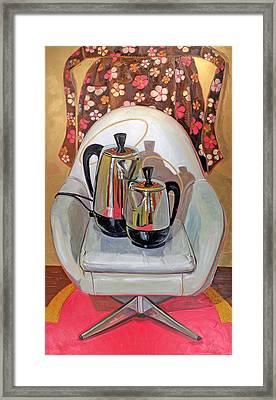 Perker Maesta Framed Print by Jennie Traill Schaeffer