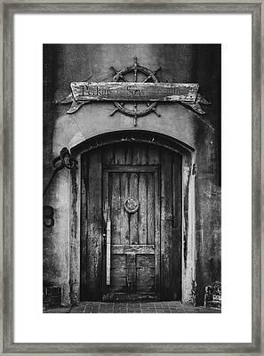 Perkins And Sons Door Framed Print