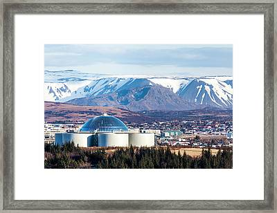 Framed Print featuring the photograph Perlan by Wade Courtney