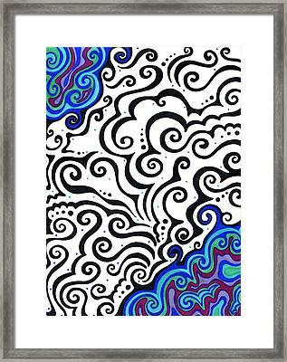 Permafrost  Framed Print by Mandy Shupp