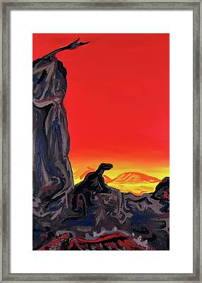 Permian Outpost Framed Print by Ryan Demaree