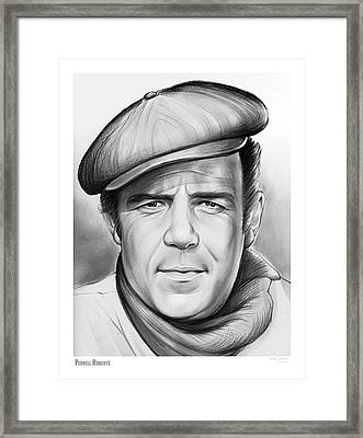Pernell Roberts Framed Print