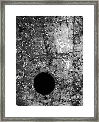Perpendicular Framed Print by Tom Druin
