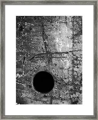 Perpendicular Framed Print