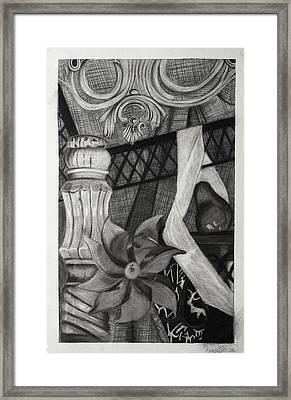 Perpeptual Pinwheel Framed Print