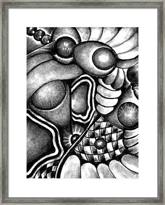 Perpetual Intertwine Framed Print