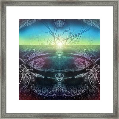 Perpetual Motion Landscape Framed Print by Otto Rapp