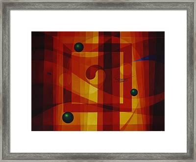 Perpetual Movement Framed Print by Alberto DAssumpcao