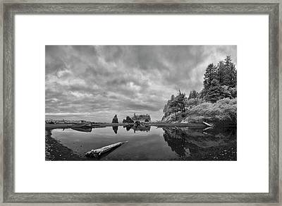 Perpetual Transition Framed Print by Jon Glaser