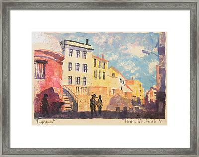 Perpignan, South France,languedoc Framed Print