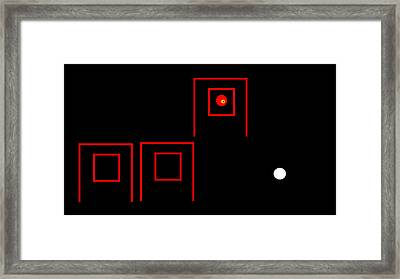 Framed Print featuring the digital art Perplexed by Cletis Stump