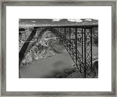 Perrine Bridge, Twin Falls, Idaho Framed Print
