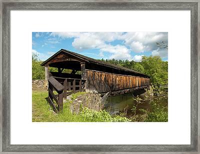 Perrine's Bridge In May Framed Print
